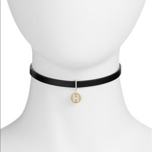 "Kate Spade | ""H"" Initial One In A Million Choker"